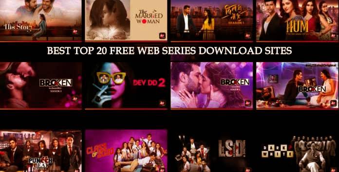 Top 20 Best Free Web Series Download Sites